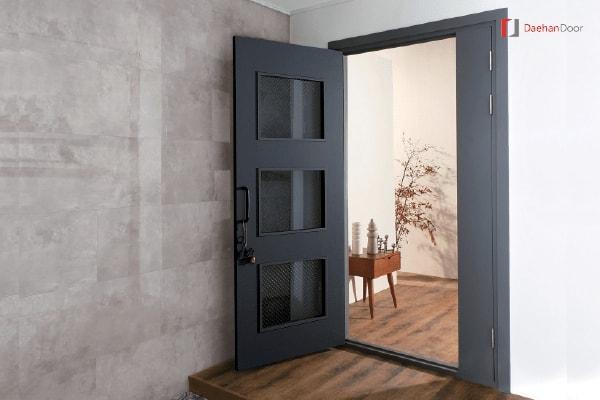 Sử dụng cửa nhựa ABS Hàn Quốc trong nội thất gia đình