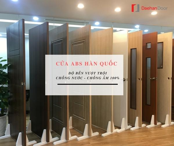 Căn hộ chung cư nên lựa chọn cửa nhựa ABS hay loại cửa nào ?