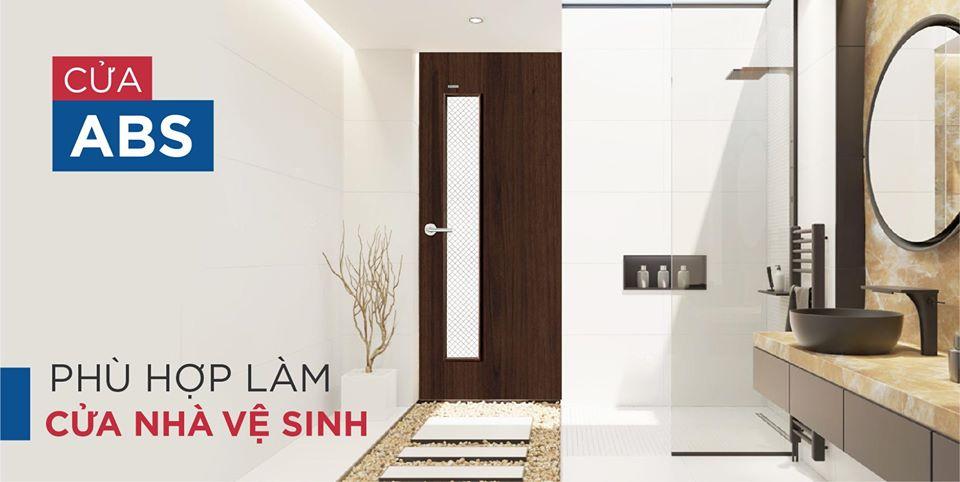 cửa phòng vệ sinh