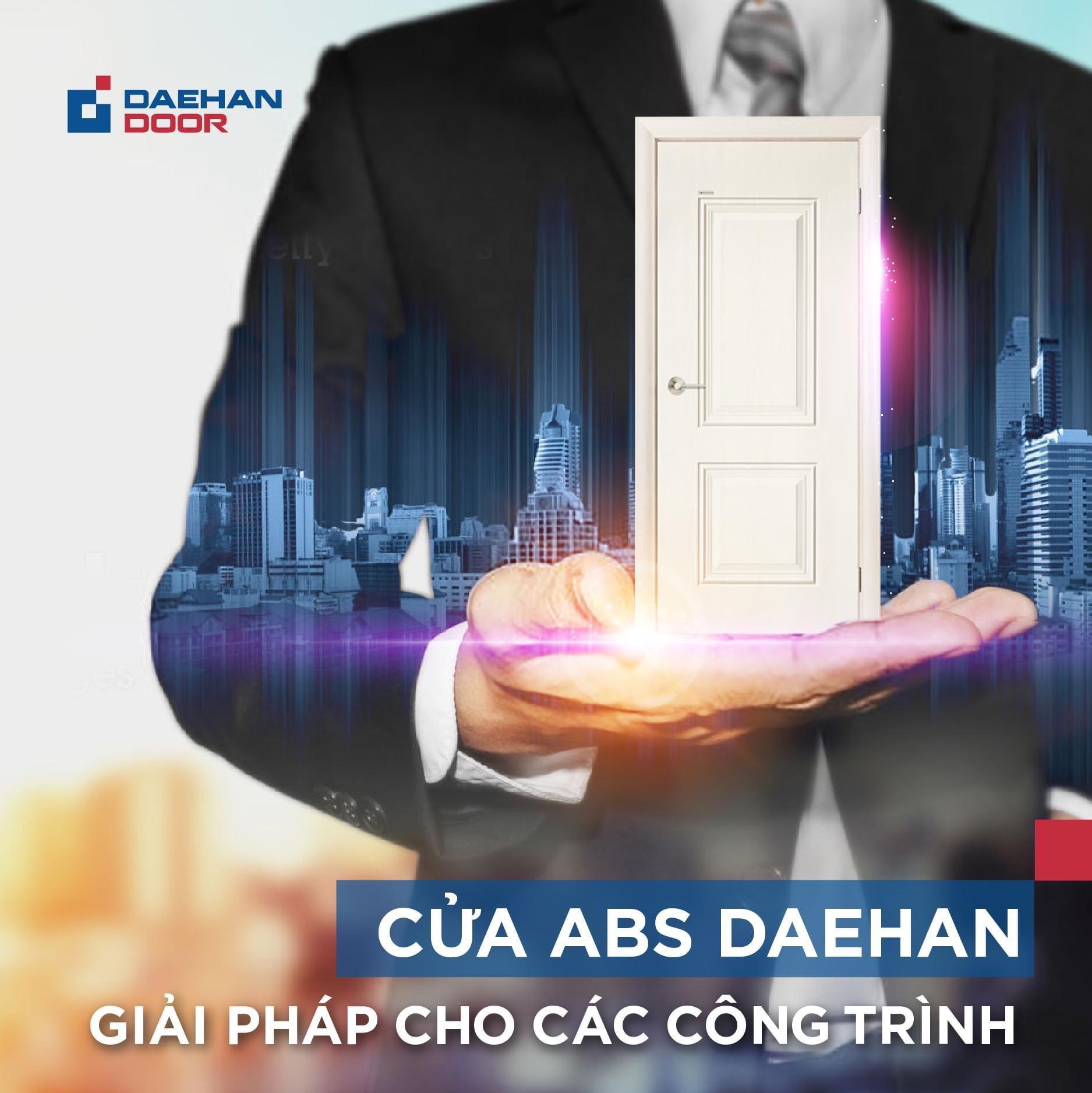 Cửa ABS Daehan đã và đang đồng hành với mọi công trình ở Việt Nam