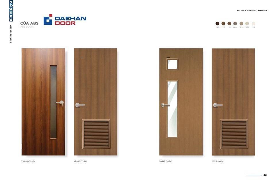 Nên chọn nào cửa nào làm cửa nhà vệ sinh