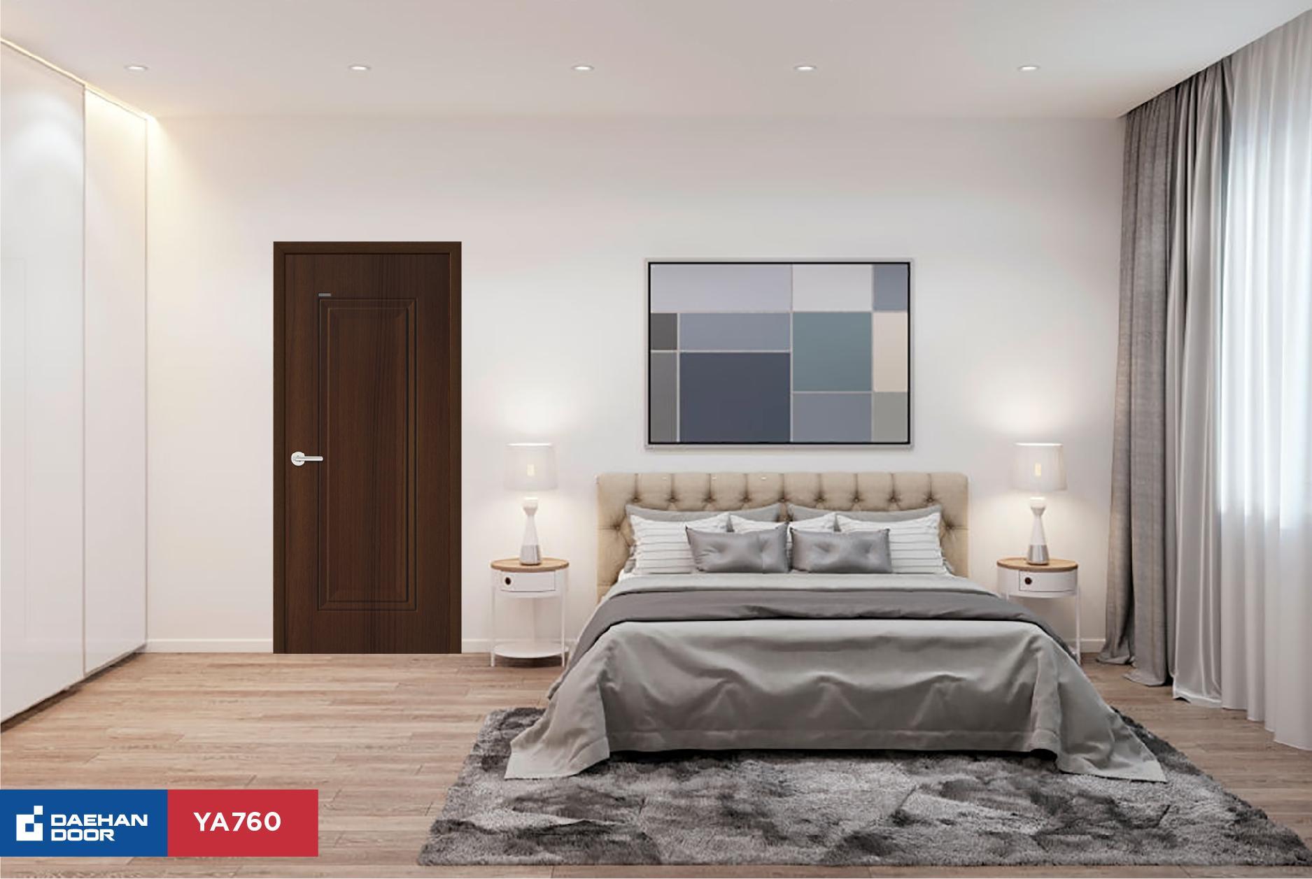 Gợi ý cách bày trí cửa phòng ngủ đẹp ấn tượng năm 2020