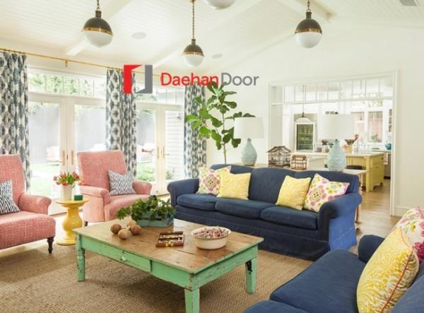 Chiêm ngưỡng vẻ đẹp của ngôi nhà đầy màu sắc độc đáo