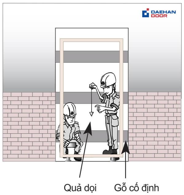 Quy trình lắp đặt nhanh trong Daehan Door