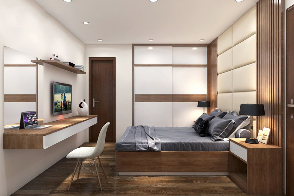 Thiết kế nội thất phòng ngủ tối màu ấn tượng không thể bỏ qua